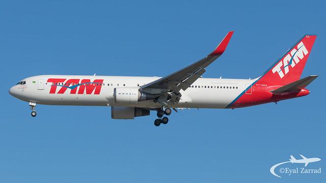 MXP - TAM Boeing 767-300 PT-MOA