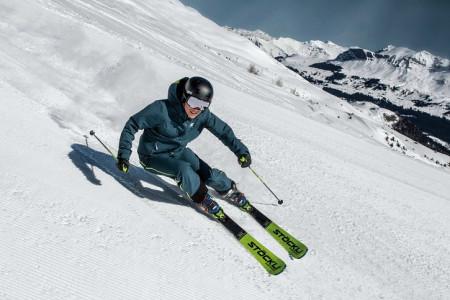 Závodní lyže Stöckli