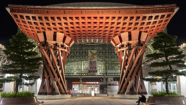 Drum Gate at Kanazawa Station [Explored 22 Oct 2019]