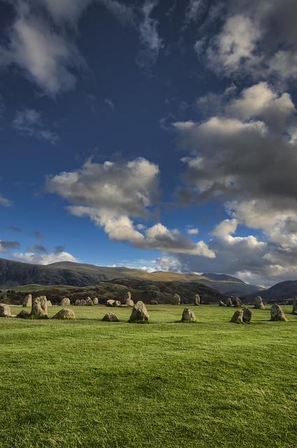 Castlerigg Stone Circle The Lake District 10/2019