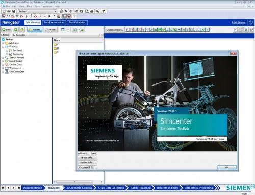 Working with Siemens Simcenter Testlab 2019.1 full license