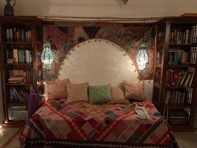 Home Sweet Home - Elena Tommaseo's Reading Bed, East of Kaliash