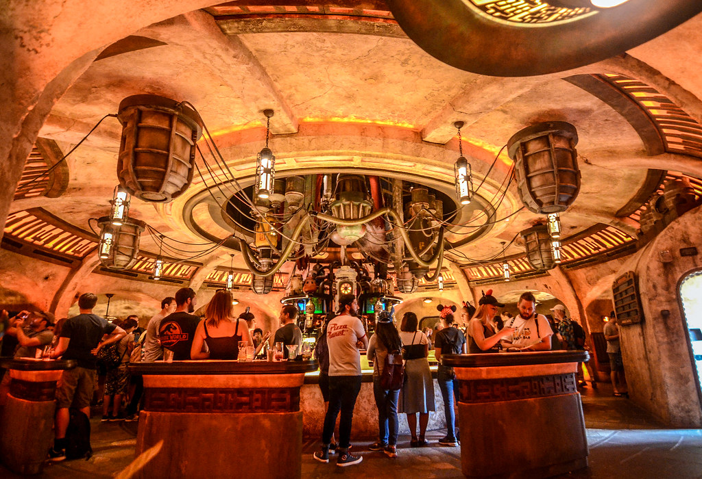 Oga's Cantina from seat DL SWGE
