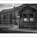 colin.mair posted a photo:One of the old buildings at Carlisle near the railway line where we were staying...
