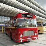 Bus relics at Preston Bus Station