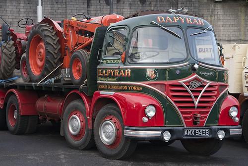 1964 Foden S21 truck, D.A. Pyrah at Burnley HEMS