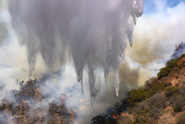 Water-drop on Brushfire