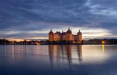 Blue Hour Schloss Moritzburg