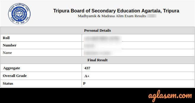 TBSE Madhyamik Result 2020 (Declared): Check Tripura 10th Result 2020, Pass Percentage, Toppers