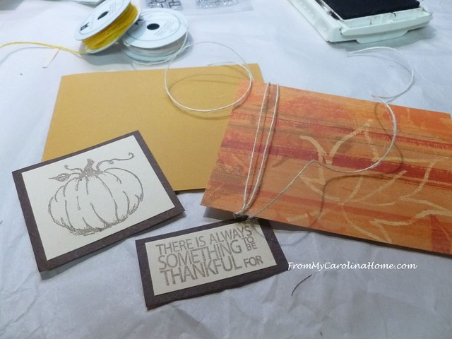 Autumn Jubilee Stamping at FromMyCarolinaHome.com