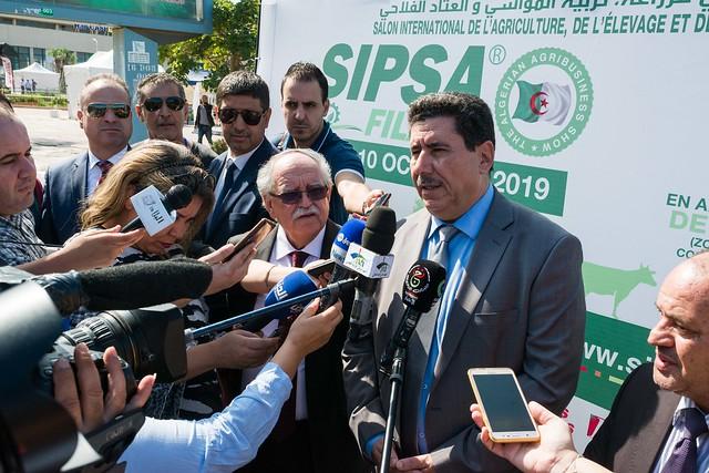 Inauguration SIPSA-FILAHA 2019