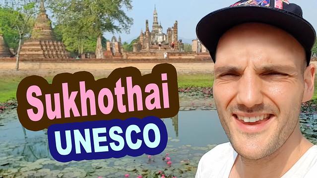 Reportage Thailande du Nord - Sukhothai - Unesco - Wat Sra Sri - Wat Mahathat - Grand Bouddha - Reportage de Ben Heine - Escape - Route des Ethnies (Youtube Video)