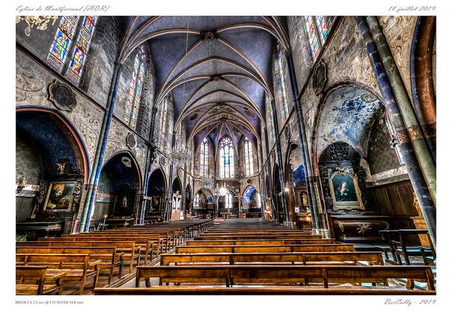 L'église de Montferrand - HDR