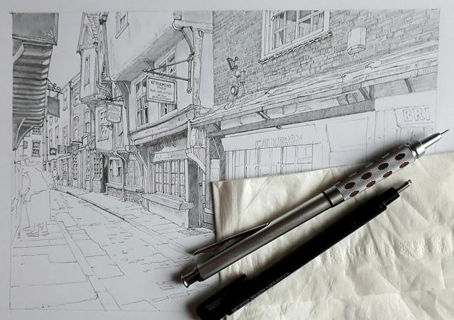York's narrowest street (WiP 3)