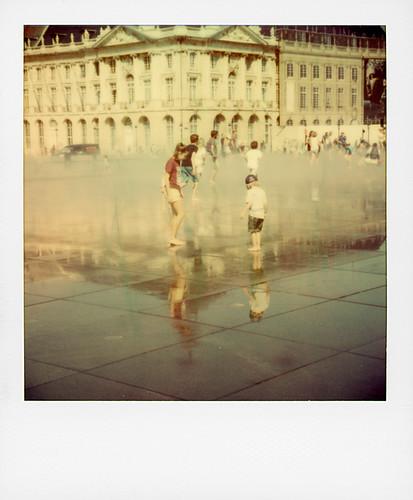 Fontaine miroir à Bordeaux