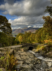 Ashness Bridge Keswick The Lake District 10/2019