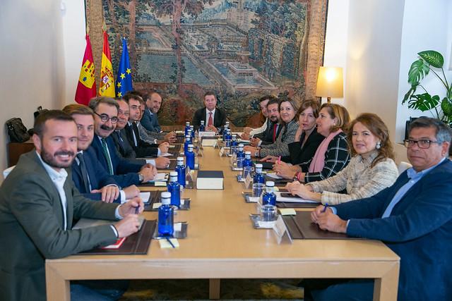 Consejo de Gobierno con los municipios ribereños de Entrepeñas y Buendía