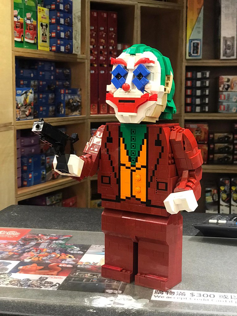Is it just me, or is it getting crazier out there? #joker #legomoc #legobuilt #lego