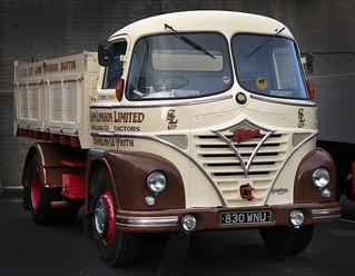 1961 Foden S21 truck, Sam Longston Ltd at Burnley HEMS 2019