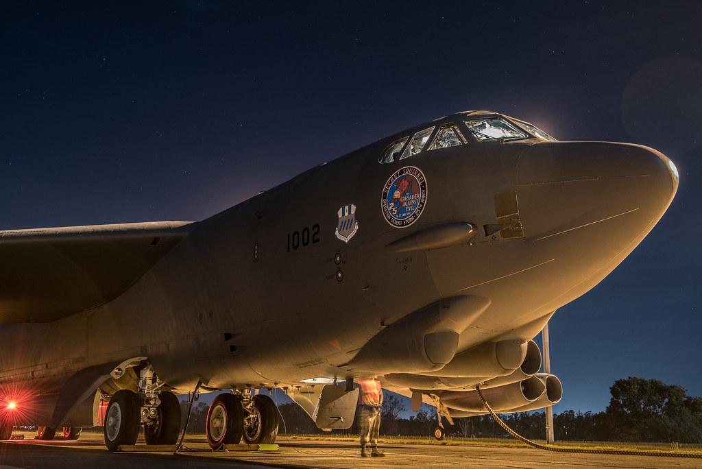 U.S. forces intergrate with Australian during EAC at RAAF base Darwin / Royal Australian Air Force (RAAF) Base, Darwin, Australia