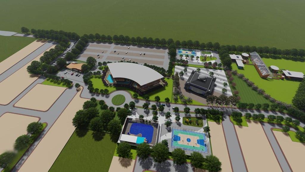 Siteplan De Madania Farm and Resort