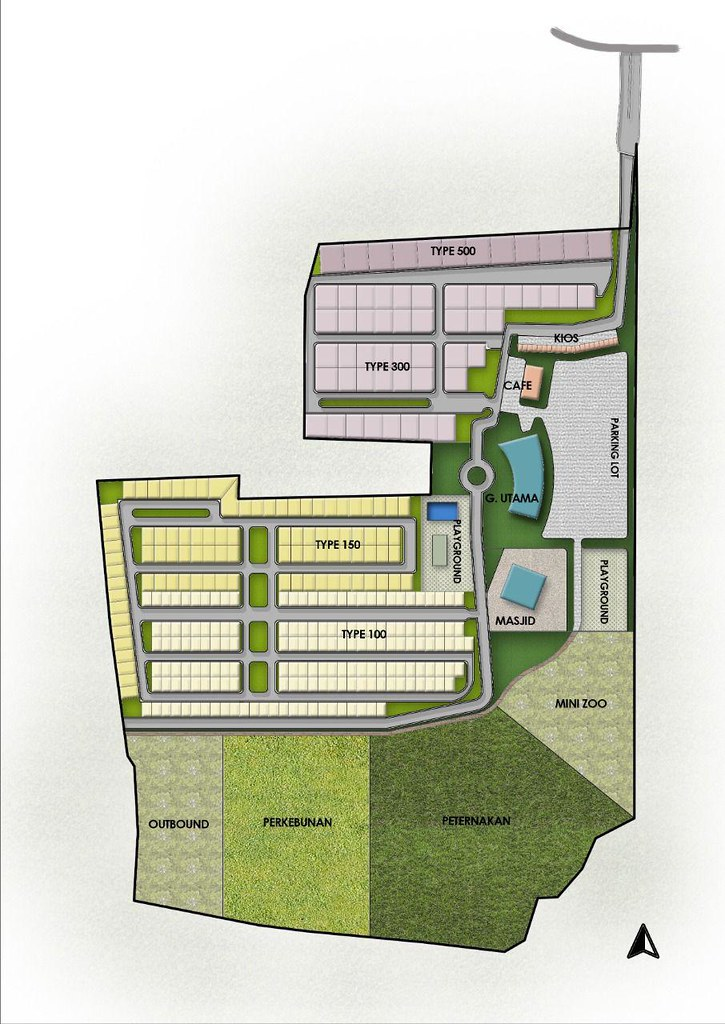 Siteplan De Madania Farm & Resort