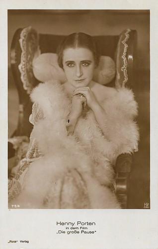 Henny Porten in Die grosse Pause (1927)