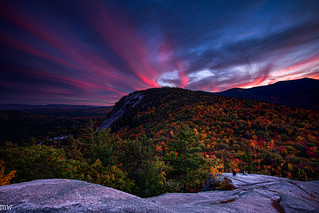 Cathedral Ledge Sunset