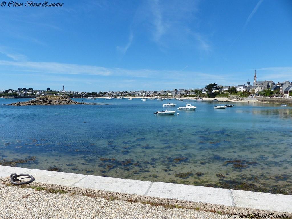 Jeter les amarres sur l'île de Batz - Finistère - Bretagne - France - Europe