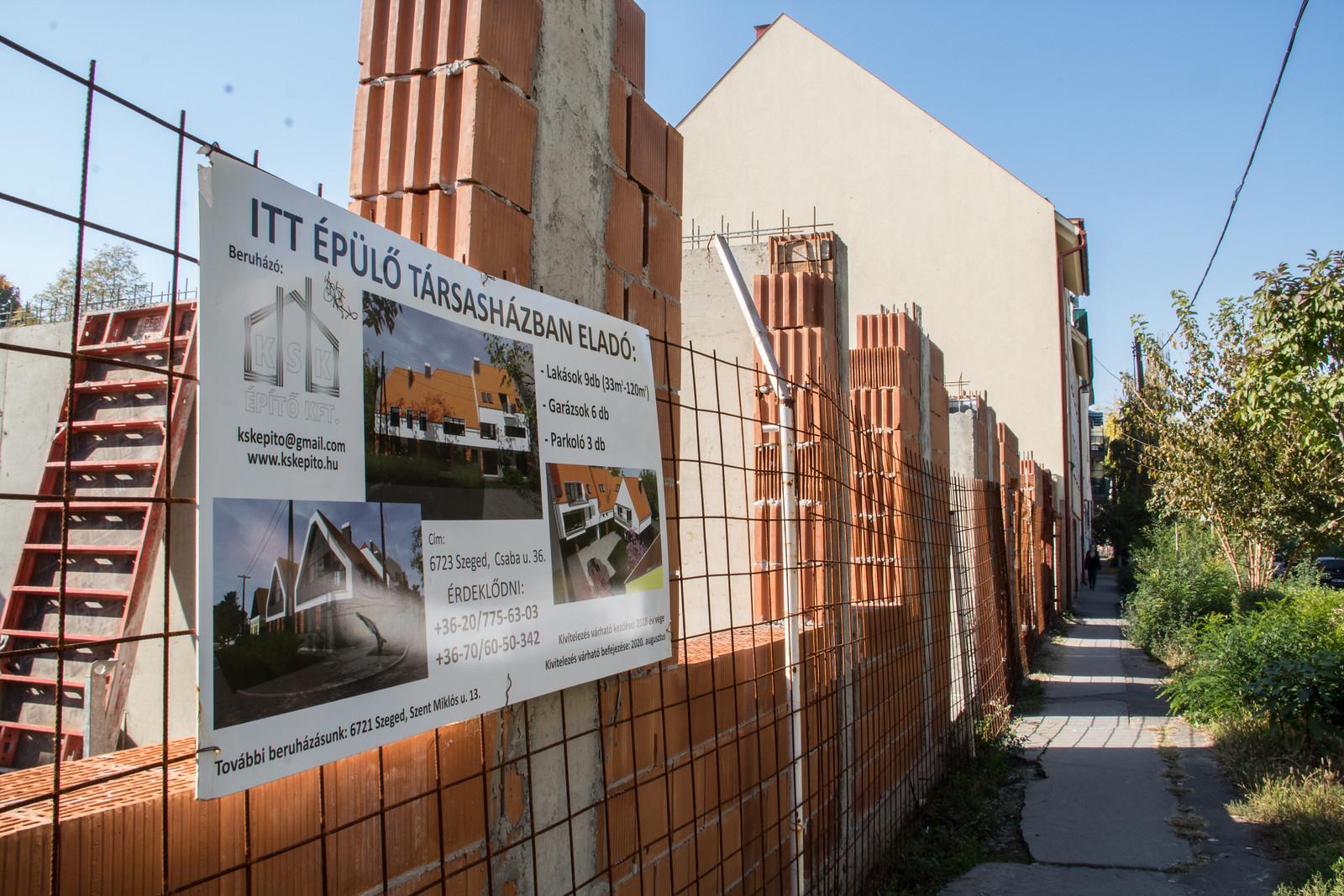 Drágák az új szegedi lakások, de országos szinten jobban állunk a legolcsóbbakkal