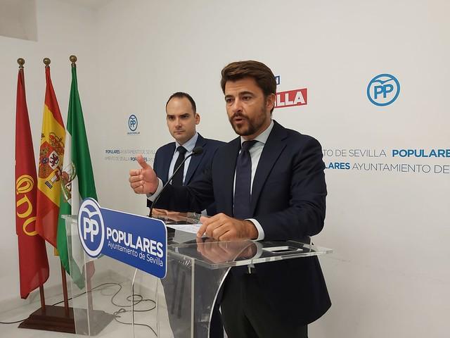 Beltrán Pérez - PP de Sevilla