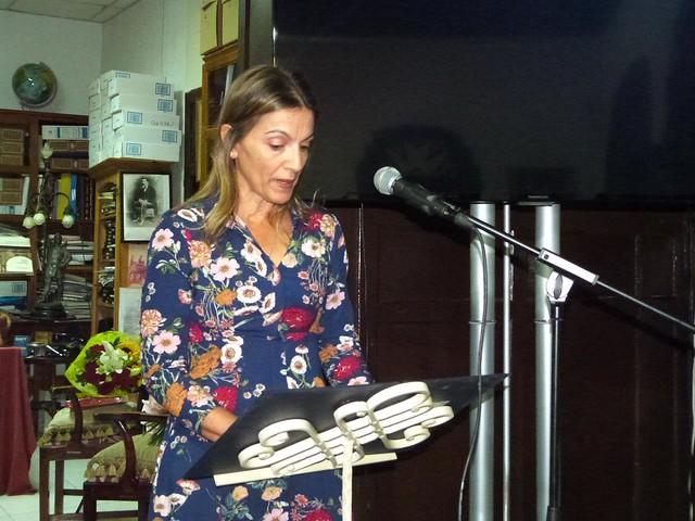 Reconocimiento de Teguise a la labor de Nieves Castillo 21-10-19