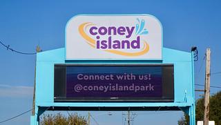 Coney Island sign
