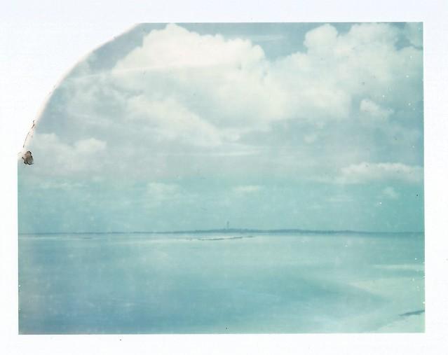 Polaroid Week Day Three - Distant Island