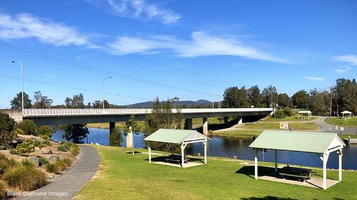 myallriverbridge myallriver bridge australianbridges bulahdelahbridge bulahdelah midnorthcoast nsw iphonexbackcamera iphonex iphone shotoniphone landscape