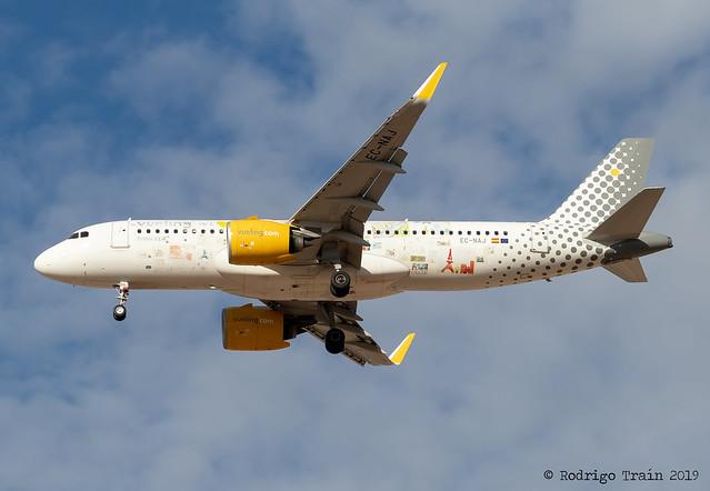 VUELING AIRLINES.  Airbus A320-271N. EC-NAJ
