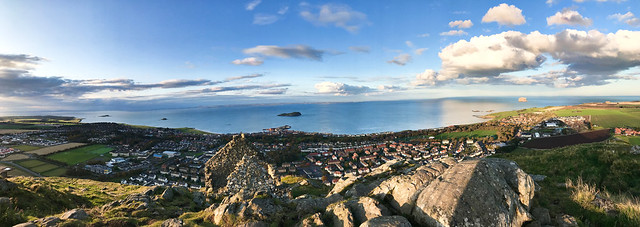 From North Berwick Law - looking northwards
