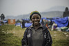 """Kavira, 35 years old, was left destitute by the armed conflict in Kipese, a small town located in North Kivu province. """"My house was burned down, all our belongings were gone. We could no longer hold out because of hunger and the cold at night because we were living outside,"""" she says.  Kavira is hoping to rebuild her life. """"Now with the money I received, I bought food and sheets for my new house that my husband will build. I am very happy.""""  © 2018, NRC/Martin Lukongo. All rights reserved. Lisenced to the European Union under conditions."""