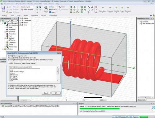Working with ANSYS Electronics Suite 2019 R3 full license
