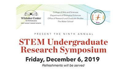 STEM UNDERGRADUATE RESEARCH SYMPOSIUM