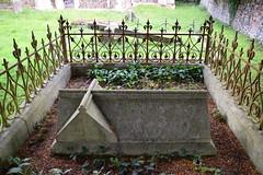 Grave of Reverend George Drury