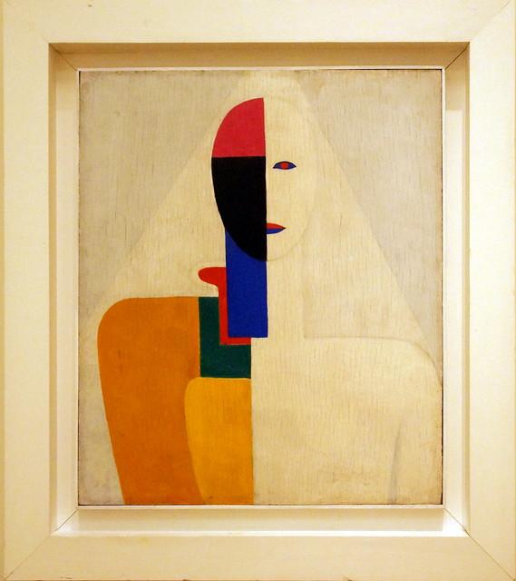 Kazimir Severinovich Malevich (Kazimierz Malewicz) (1879-1935) Female Torso, 1928-1929, oil on plywood, 58 х 48 cm. Inv.No. Ж-9467 The Russian museum, St.Petersburg