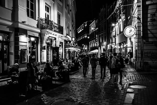 Night Life, Riga, Latvia