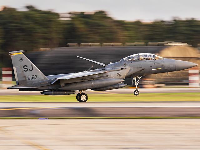 United States Air Force | McDonnell Douglas F-15E Strike Eagle | 86-0187