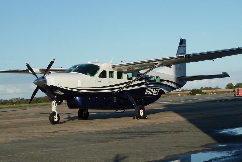 N504ex Cessna 208b Grand Caravan Ex Textron Aviation Inc Flickr