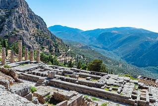 Apollon-Tempel Delphi