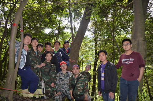 Thu, 05/21/2015 - 08:46 - Tiantongshan field team, 2015