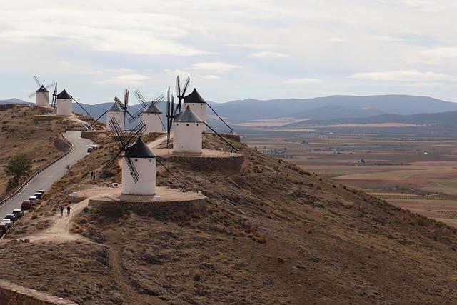 Molinos de Viento de Ruta del Quijote