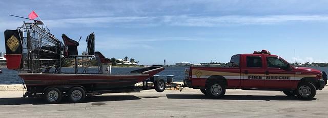 Broward Sheriff's Office Fire Rescue - Diamondback Airboat