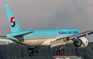 ZRH/LSZH: KoreanAirCargo Boeing B777-FB5 HL8044